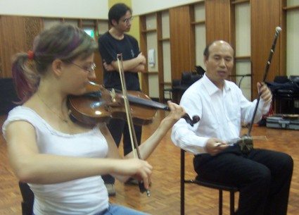 erhu and violin